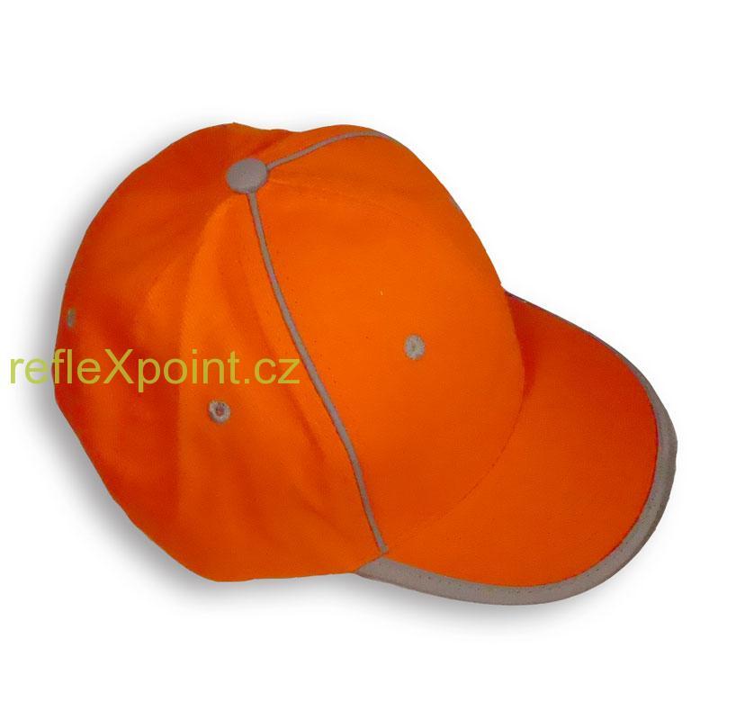Kšiltovka oranžová - reflexní 0bc3c5d17e